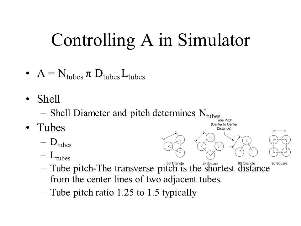 Controlling A in Simulator