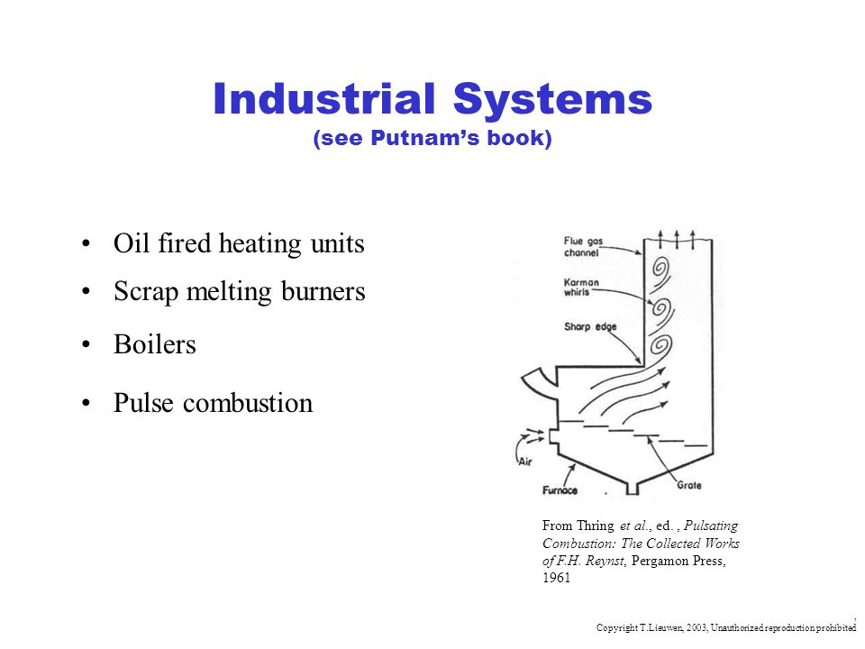 Industrial Systems (see Putnam's book)