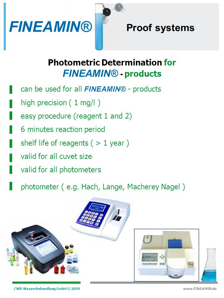 Photometric Determination for