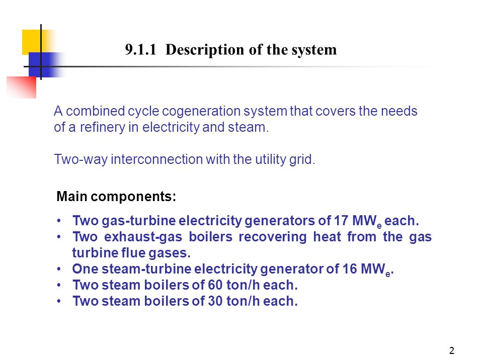 9.1.1 Description of the system