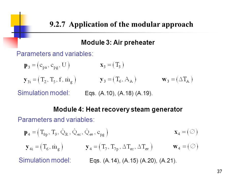 Module 4: Heat recovery steam generator
