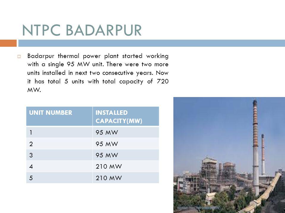 NTPC BADARPUR