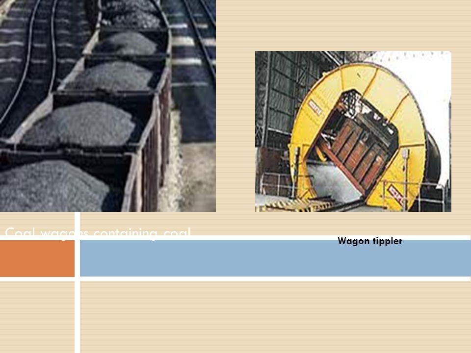 Coal wagons containing coal