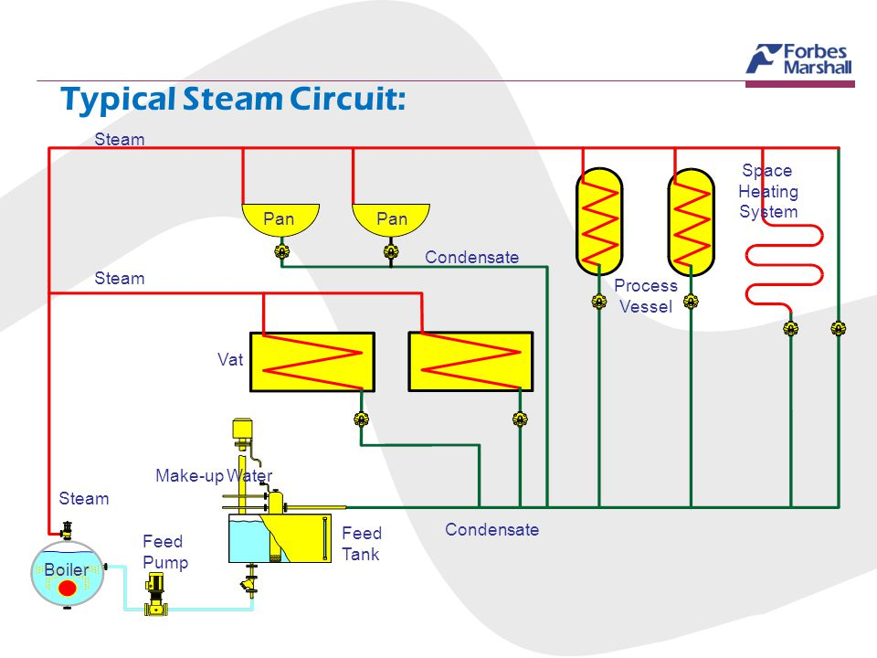 Typical Steam Circuit: