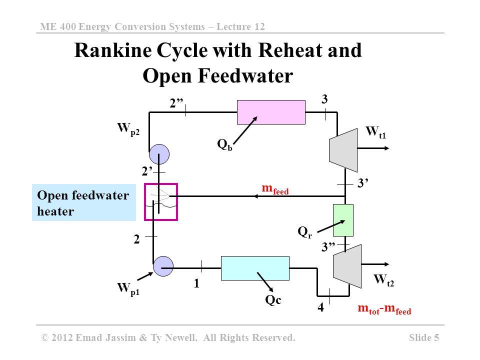 Open Feedwater Heater at Abbott PP