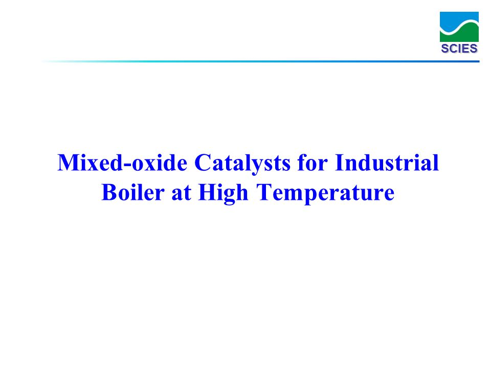 Mixed-oxide Catalysts for Industrial Boiler at High Temperature