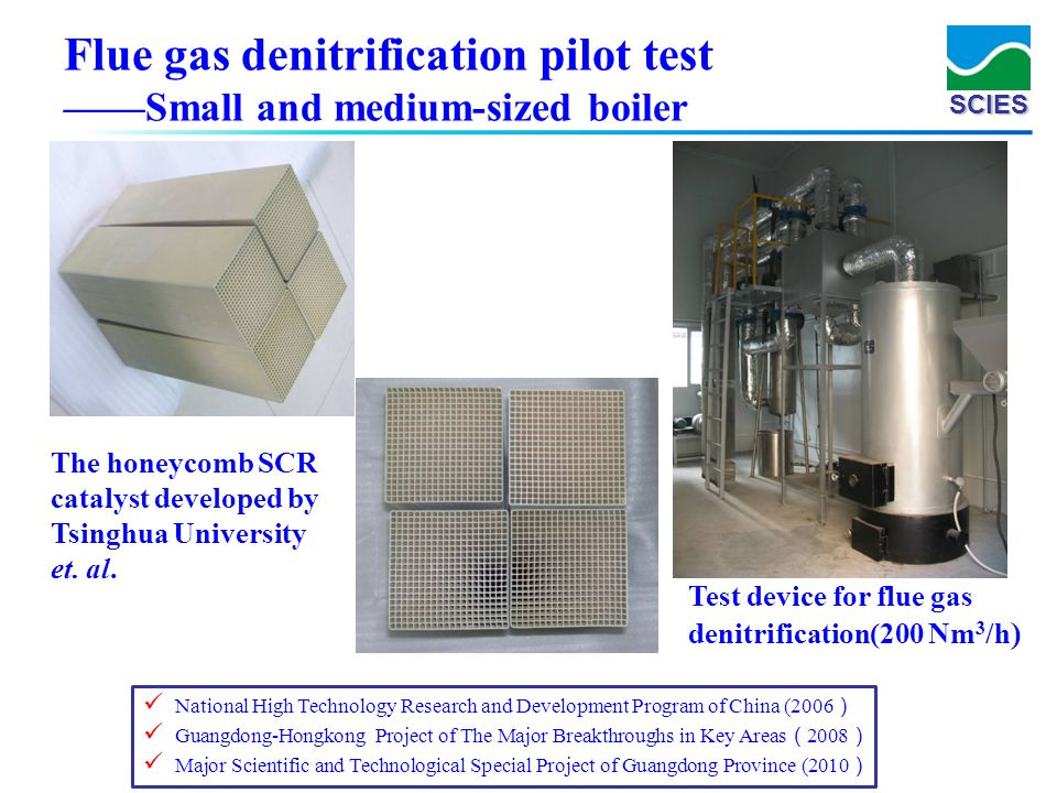 Flue gas denitrification pilot test ——Small and medium-sized boiler