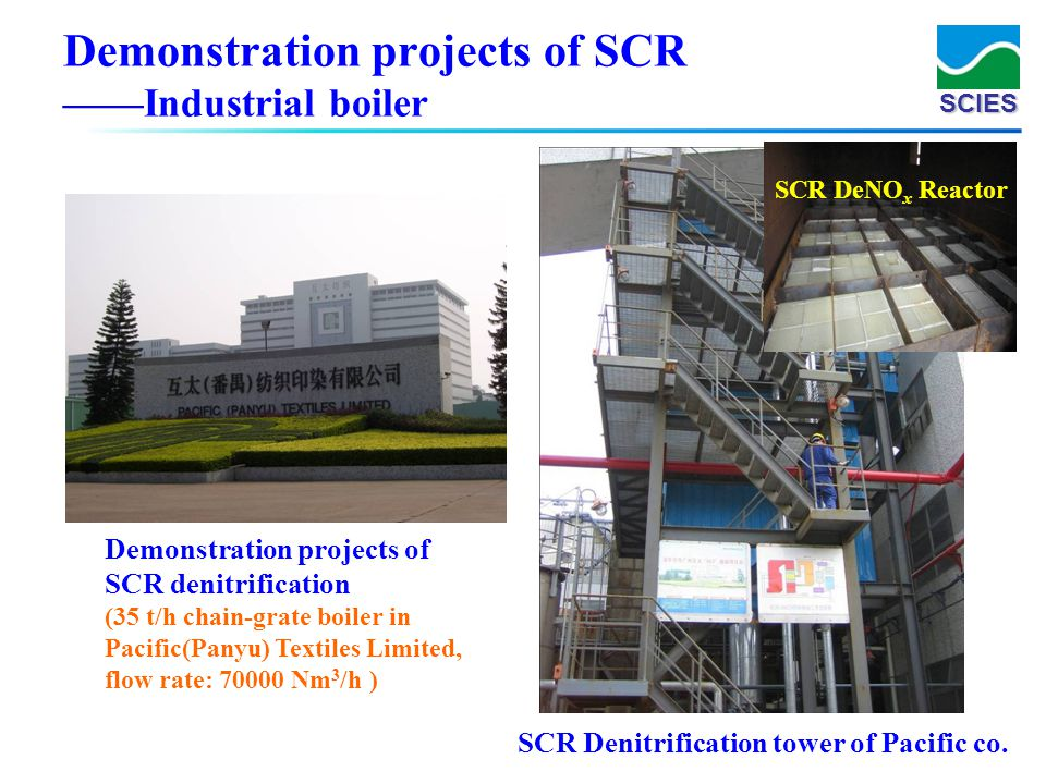 Demonstration projects of SCR ——Industrial boiler