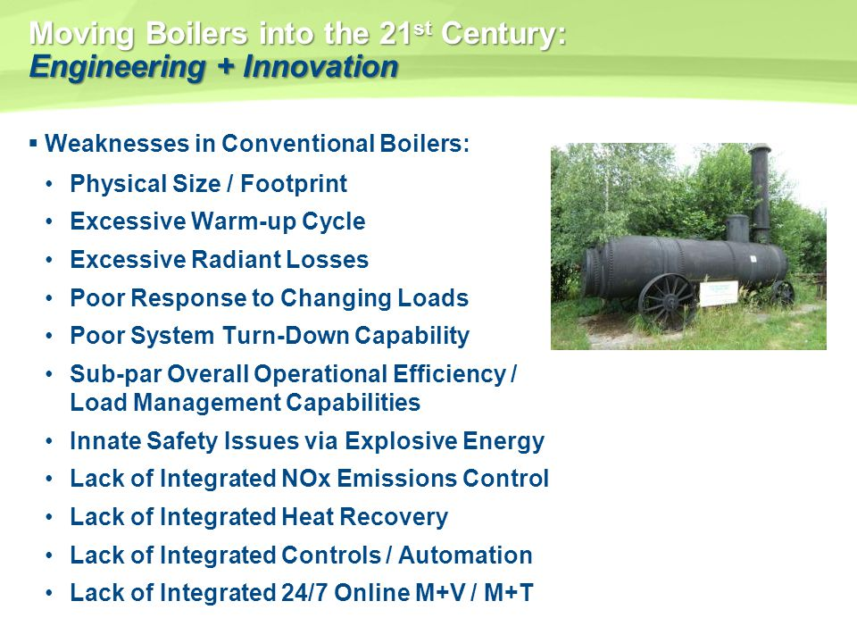 Moving Boilers into the 21st Century: Engineering + Innovation