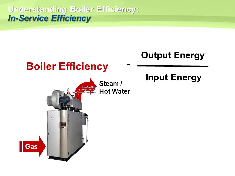 Understanding Boiler Efficiency: In-Service Efficiency