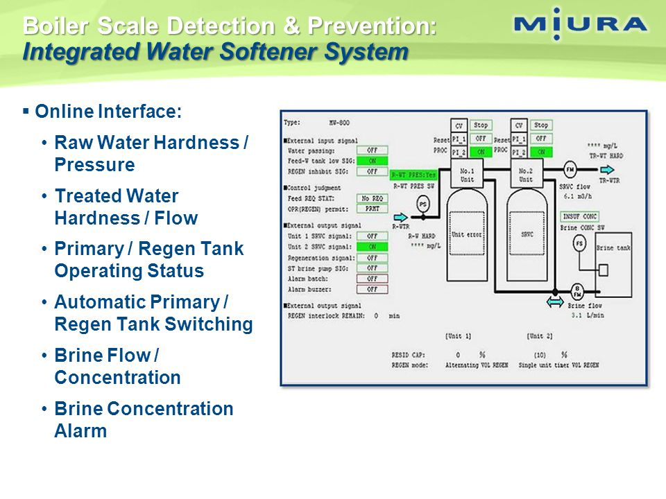 Boiler Scale Detection & Prevention: Integrated Water Softener System