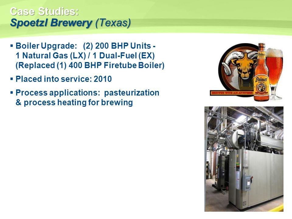 Case Studies: Spoetzl Brewery (Texas)