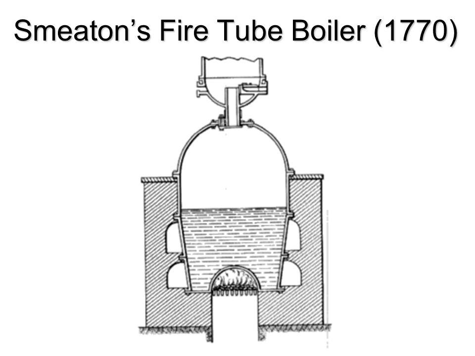 Smeaton's Fire Tube Boiler (1770)