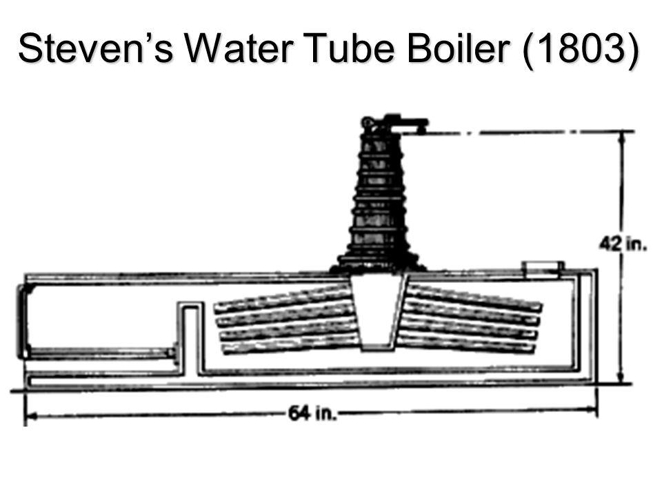 Steven's Water Tube Boiler (1803)