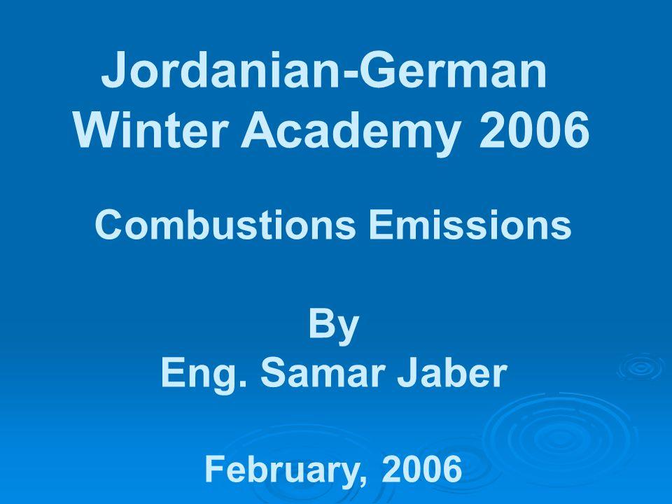 Combustions Emissions
