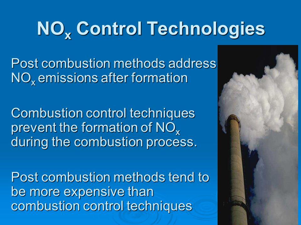NOx Control Technologies