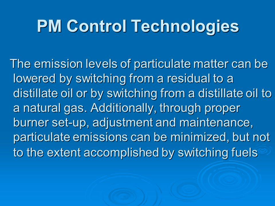 PM Control Technologies