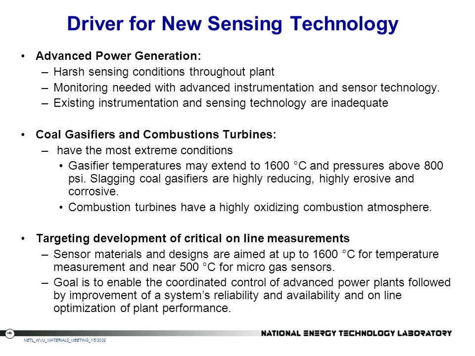 Driver for New Sensing Technology