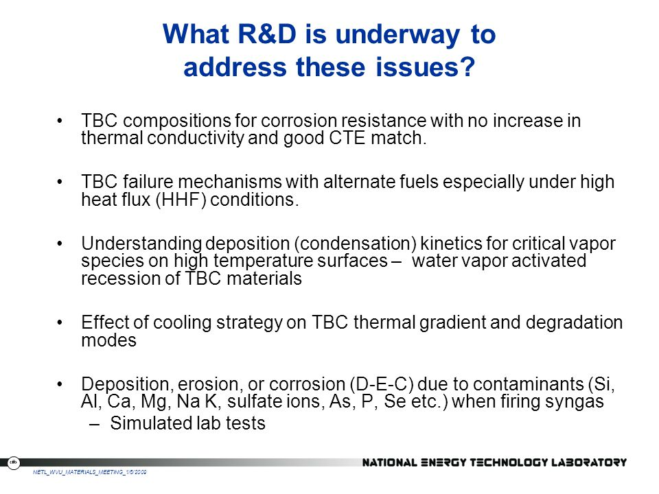 What R&D is underway to address these issues