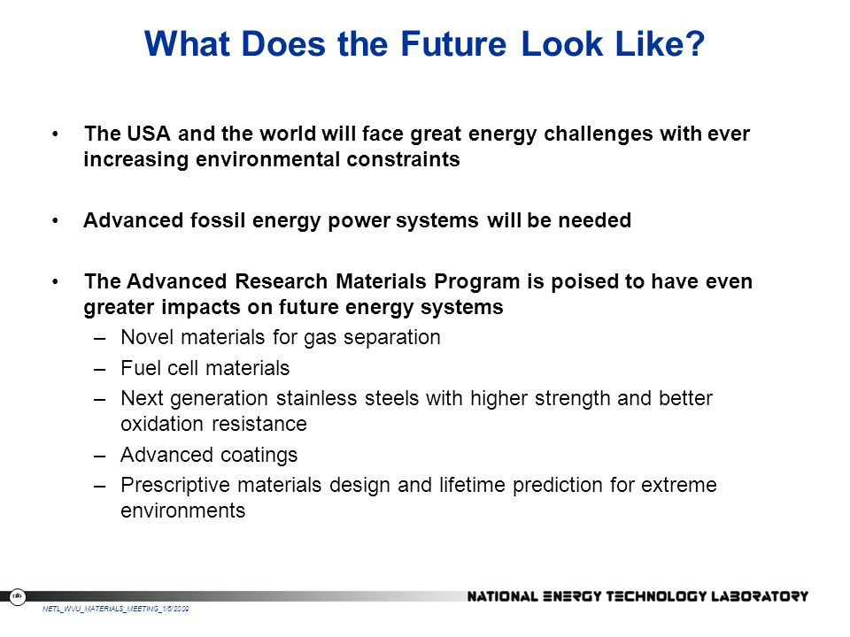 What Does the Future Look Like