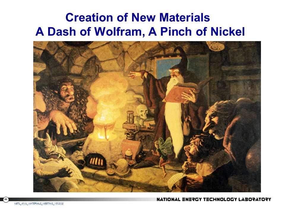 A Dash of Wolfram, A Pinch of Nickel