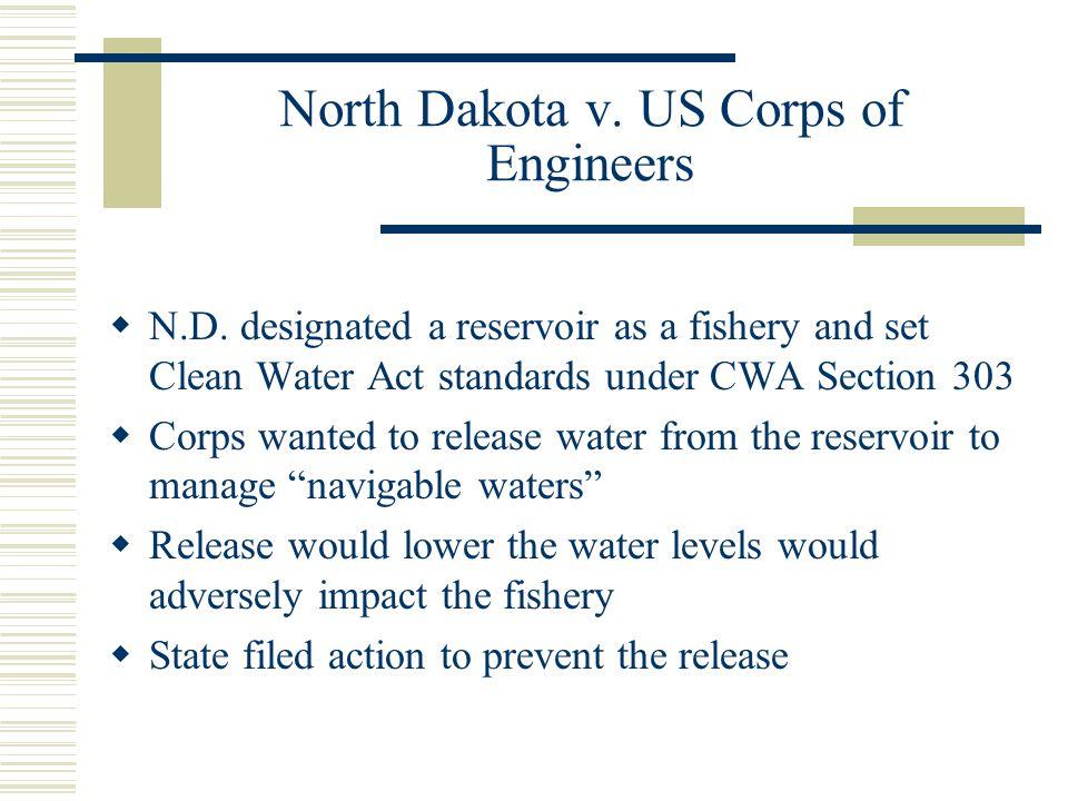 North Dakota v. US Corps of Engineers