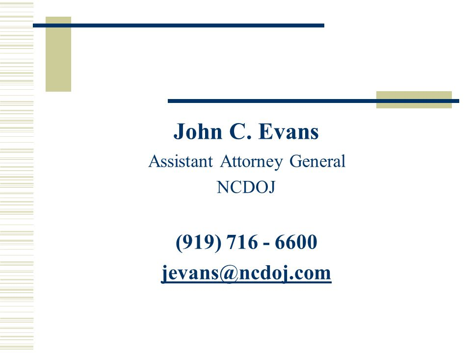 Assistant Attorney General