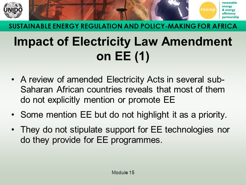 Impact of Electricity Law Amendment on EE (1)