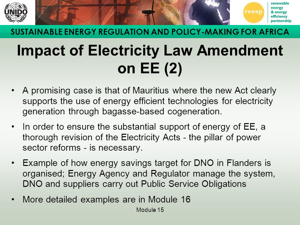 Impact of Electricity Law Amendment on EE (2)