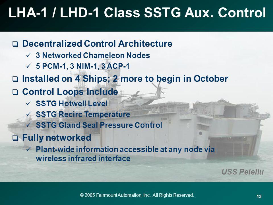 LHA-1 / LHD-1 Class SSTG Aux. Control