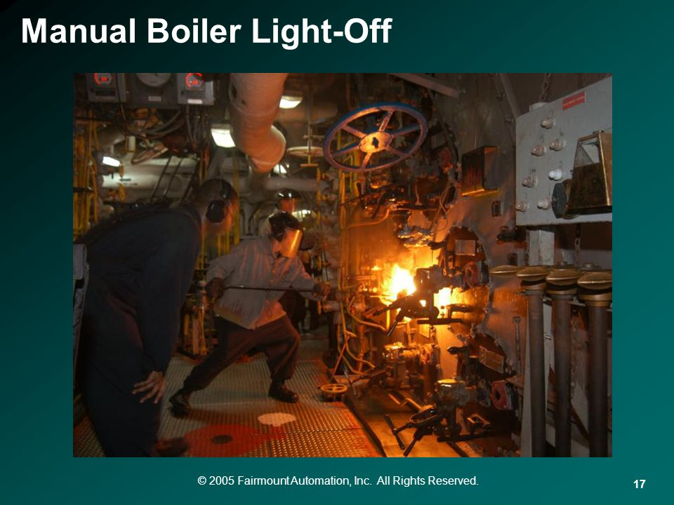 Manual Boiler Light-Off