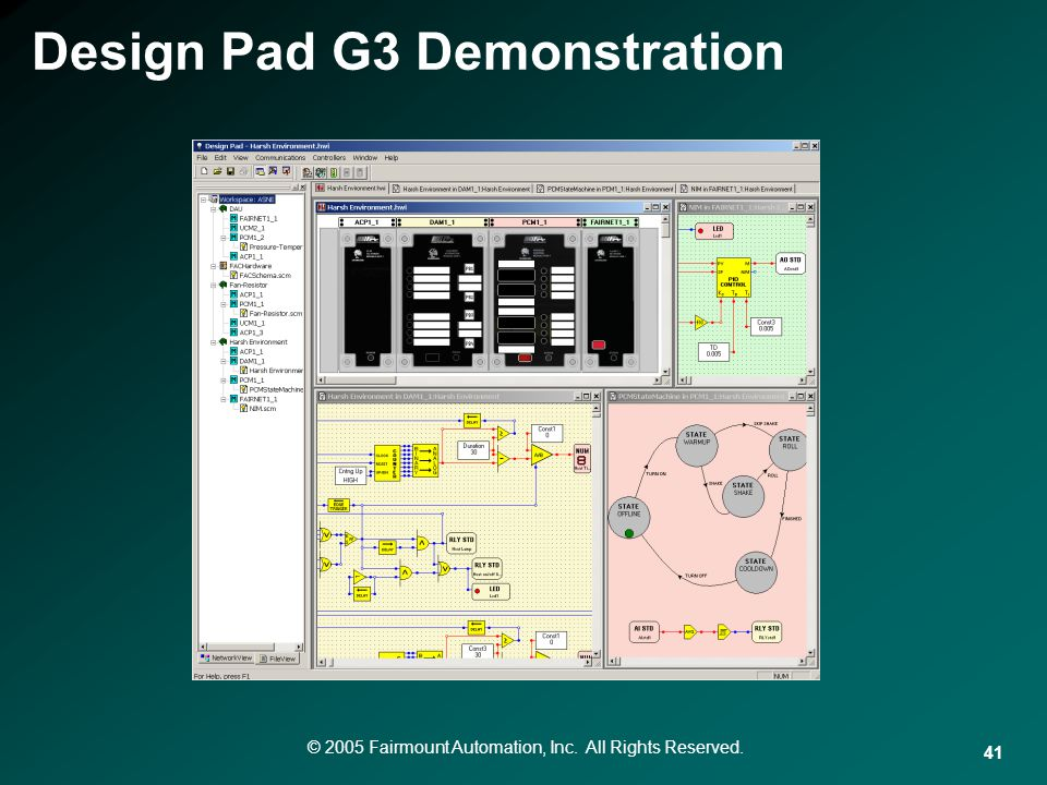Design Pad G3 Demonstration