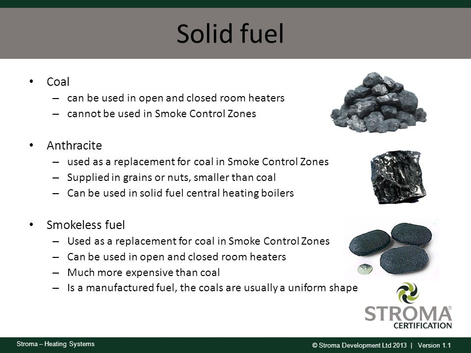 Solid fuel Coal Anthracite Smokeless fuel