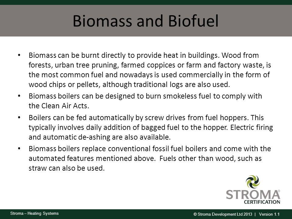 Biomass and Biofuel