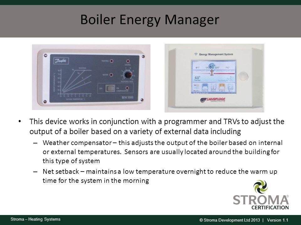 Boiler Energy Manager