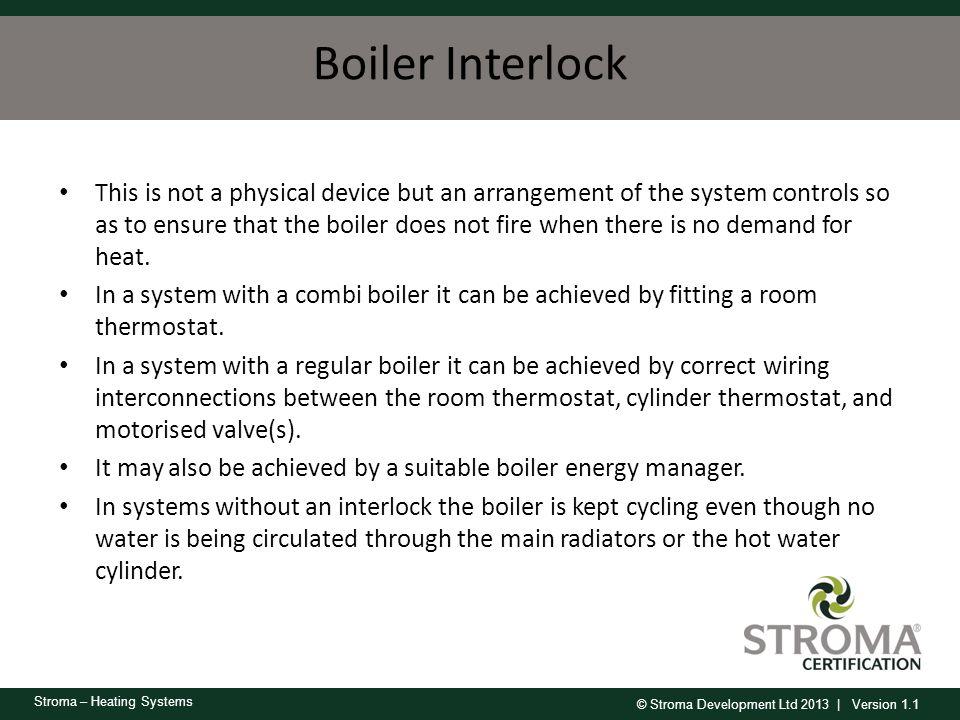 Boiler Interlock