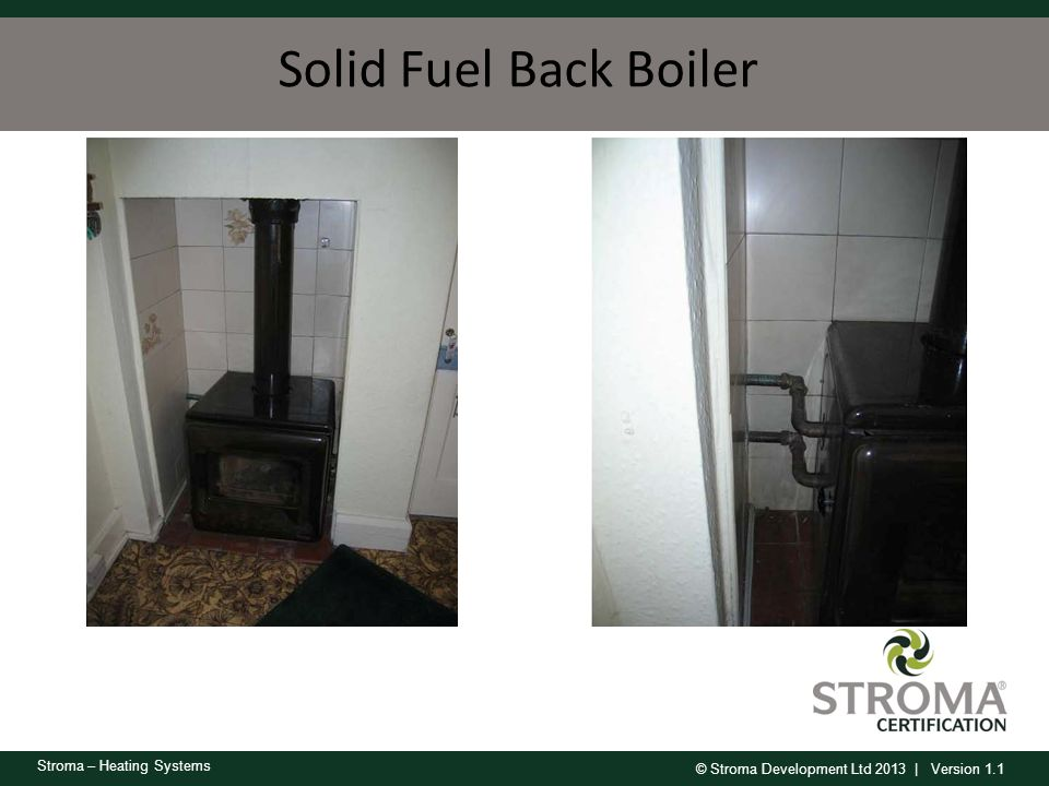 Solid Fuel Back Boiler