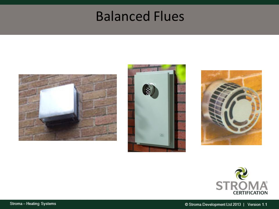Balanced Flues