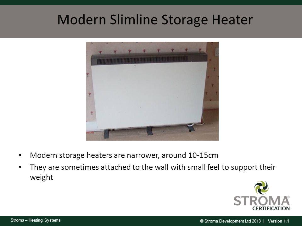 Modern Slimline Storage Heater