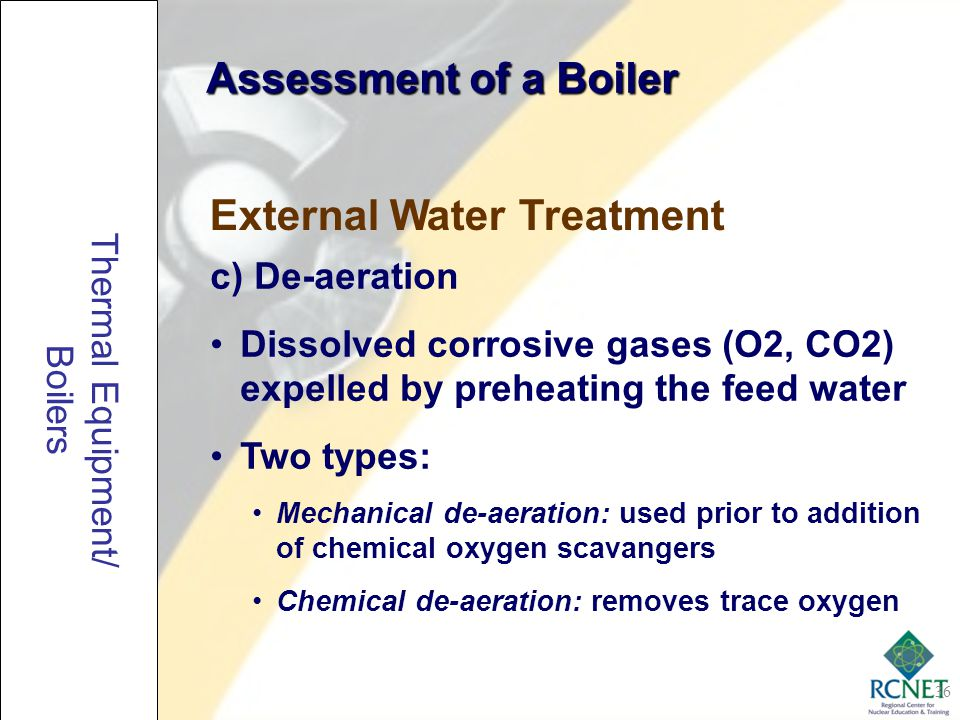External Water Treatment