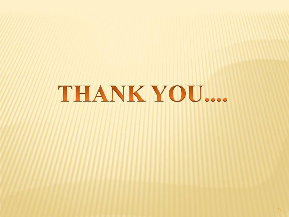 THANK YOU....
