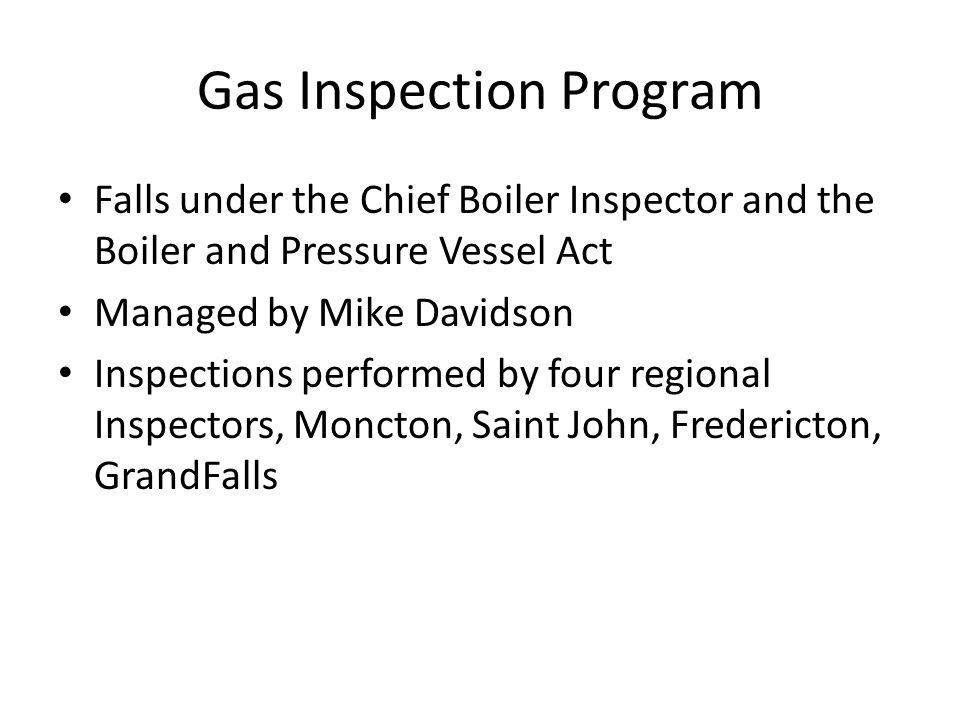 Gas Inspection Program