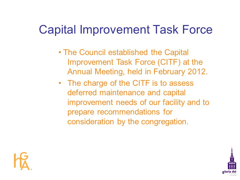 Capital Improvement Task Force