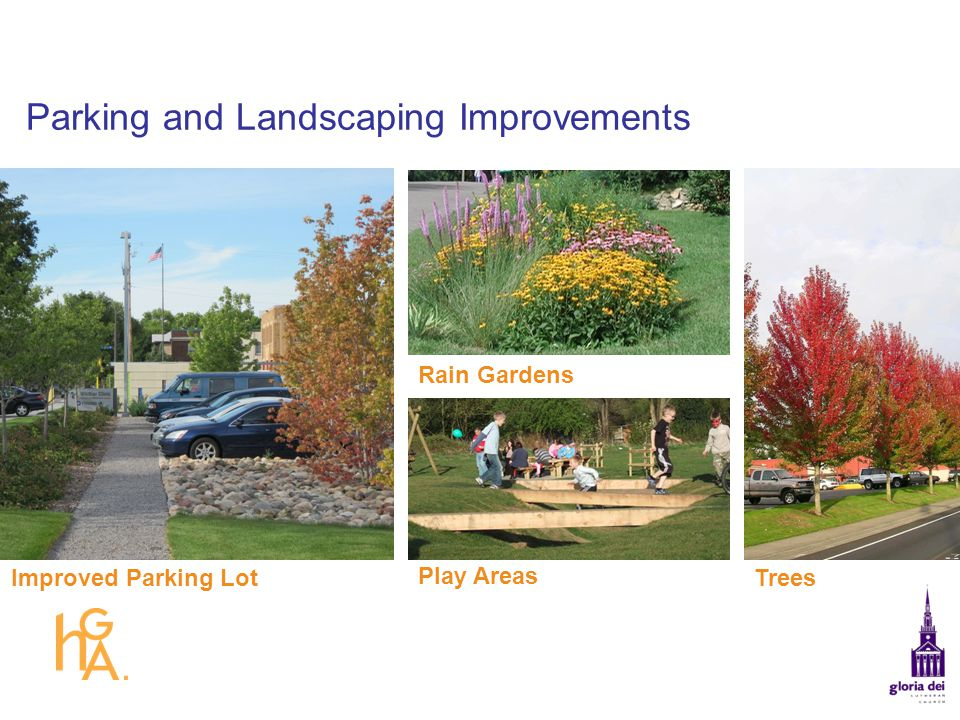 Parking and Landscaping Improvements