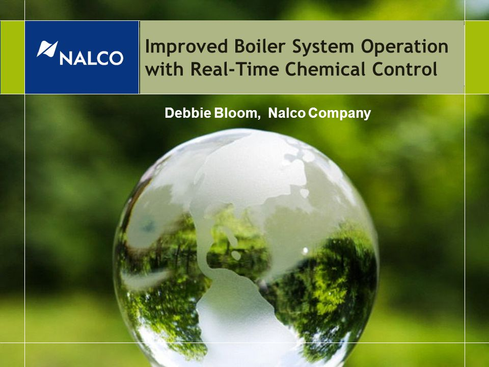 Improved Boiler System Operation with Real-Time Chemical Control ...