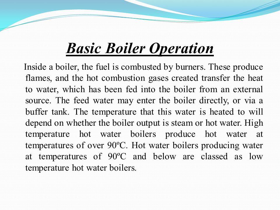 Basic Boiler Operation