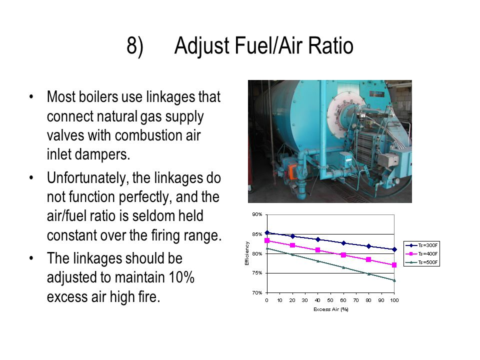8) Adjust Fuel/Air Ratio