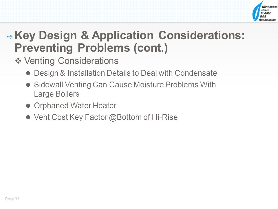 Key Design & Application Considerations: Preventing Problems (cont.)
