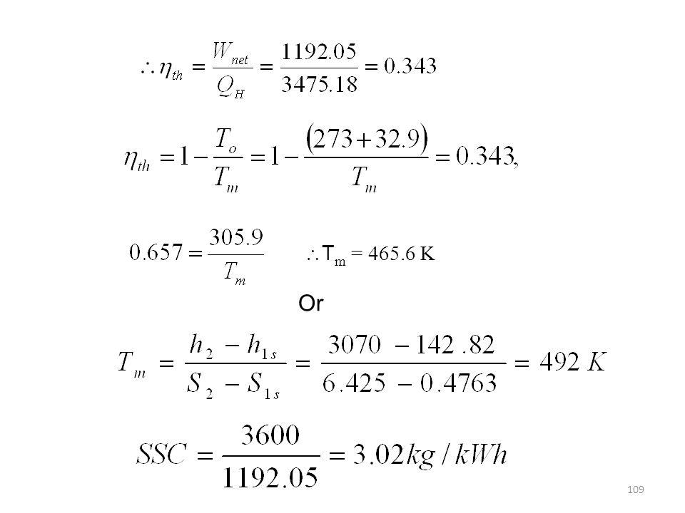 Tm = 465.6 K Or