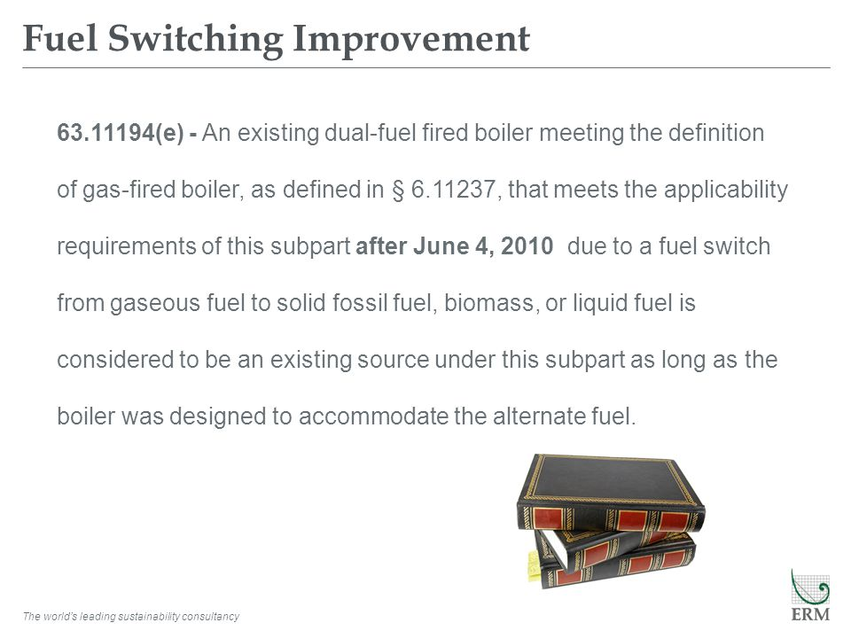 Fuel Switching Improvement